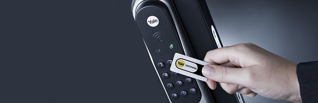 Yale Doorman, sikring af hjem med nøglebrik